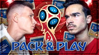 FIFA 18: WM 2018 PANINI PACK AND PLAY vs FeelFIFA Erne 😱🔥