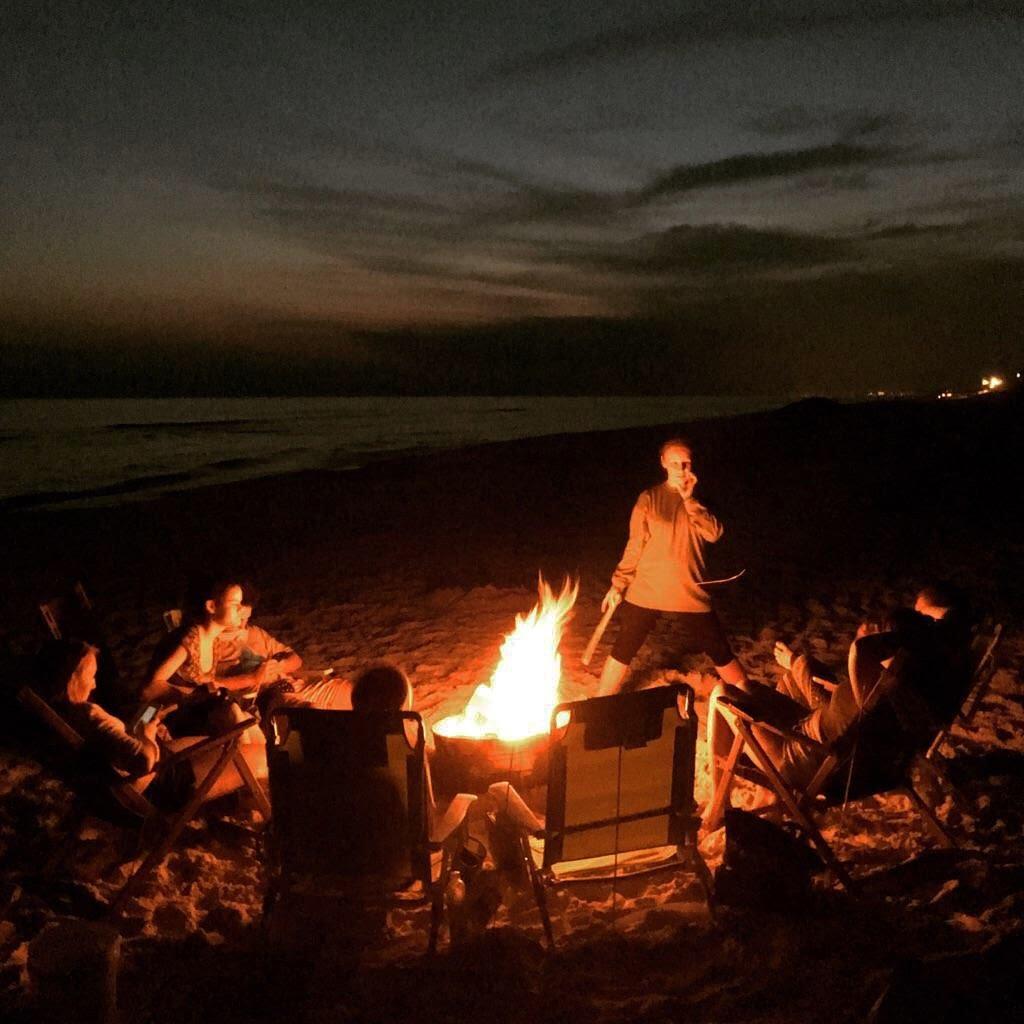 Beach Bonfires On 30a The Al 850 260 0001