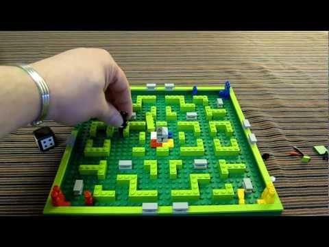 Lego Minotaurus 3841 Game - Review - Brave Adventures In The Minotaur Labyrinth Maze