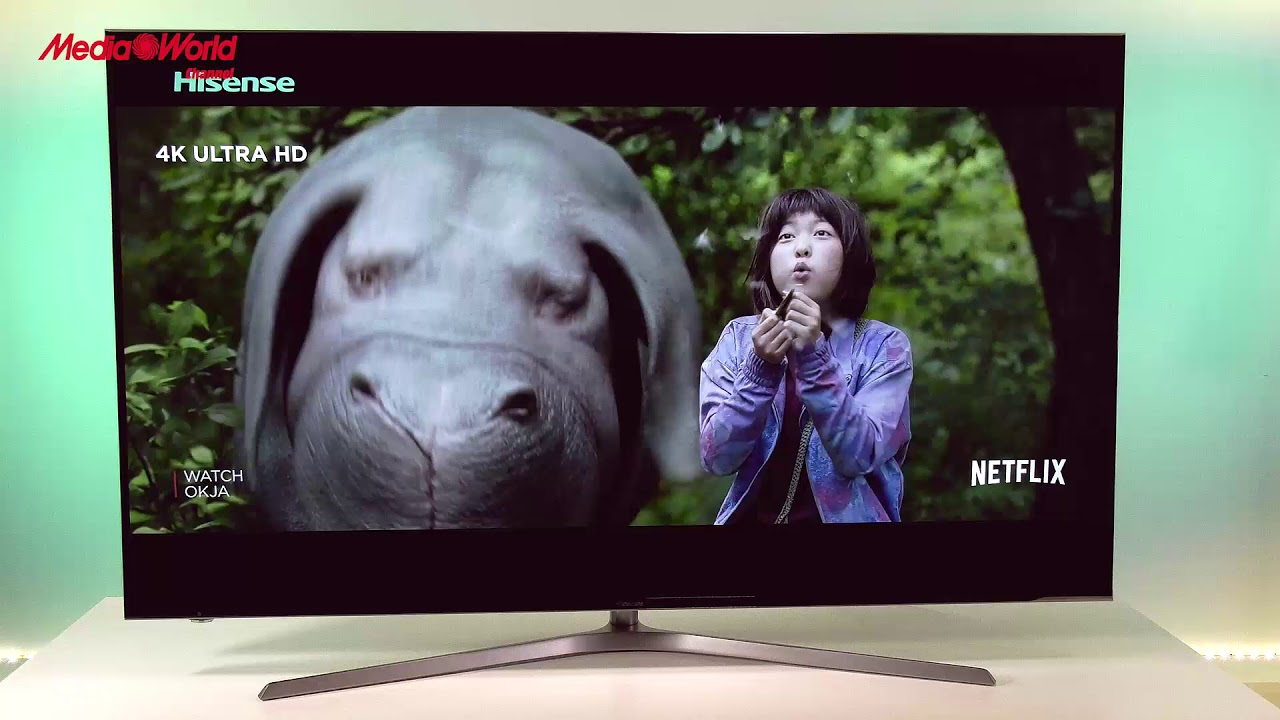Hisense Uled U7a Smart Tv 55 4k Youtube