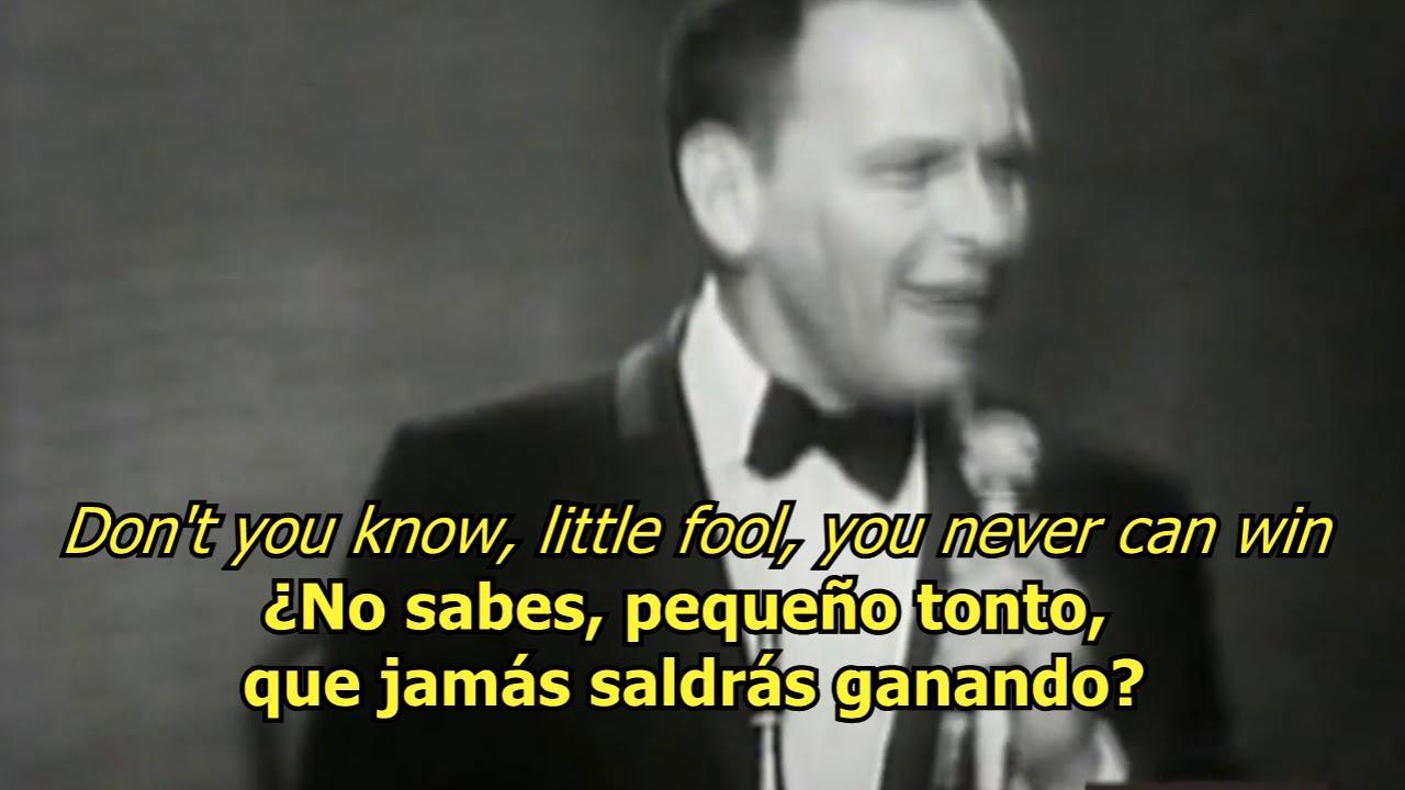 I Ve Got You Under My Skin Frank Sinatra Lyrics Letra 50s Original Youtube