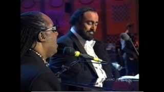 Stevie Wonder & Luciano Pavarotti - Peace Wanted Just To Be Free