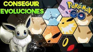 EVOLUCIONES DE EEVEE PARA EL COMMUNITY DAY..¿Cómo conseguirlas? |  Pokémon GO!