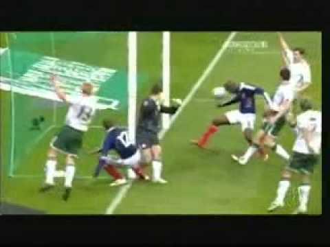 Thierry Henry's Hand Goal (This is defenitly not the hand of GOD)