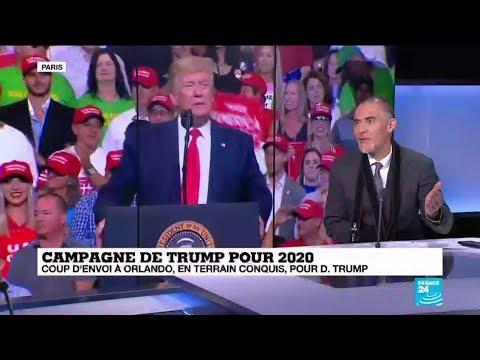 """Campagne de Trump pour 2020 : """"Quand on prend le même slogan c'est qu'on assume son bilan"""""""