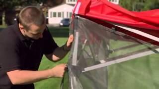 Food Tent Mesh Wall Kit Setup | Foodtent.com