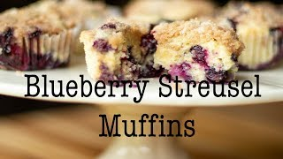 Blueberry Streusel Muffins (Perfect for Mother