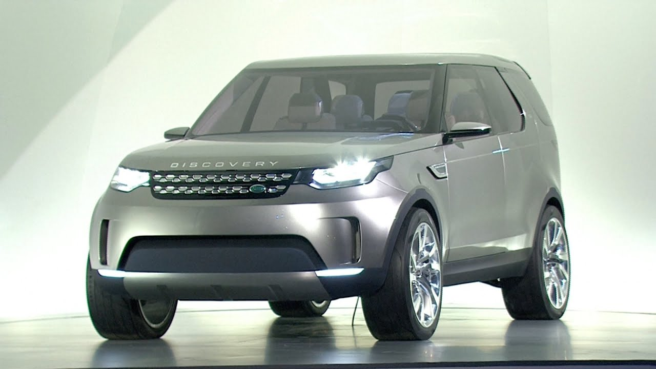 Land Rover Discovery Vision Concept WORLD PREMIERE
