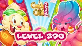 Candy Crush Jelly Saga Level 290