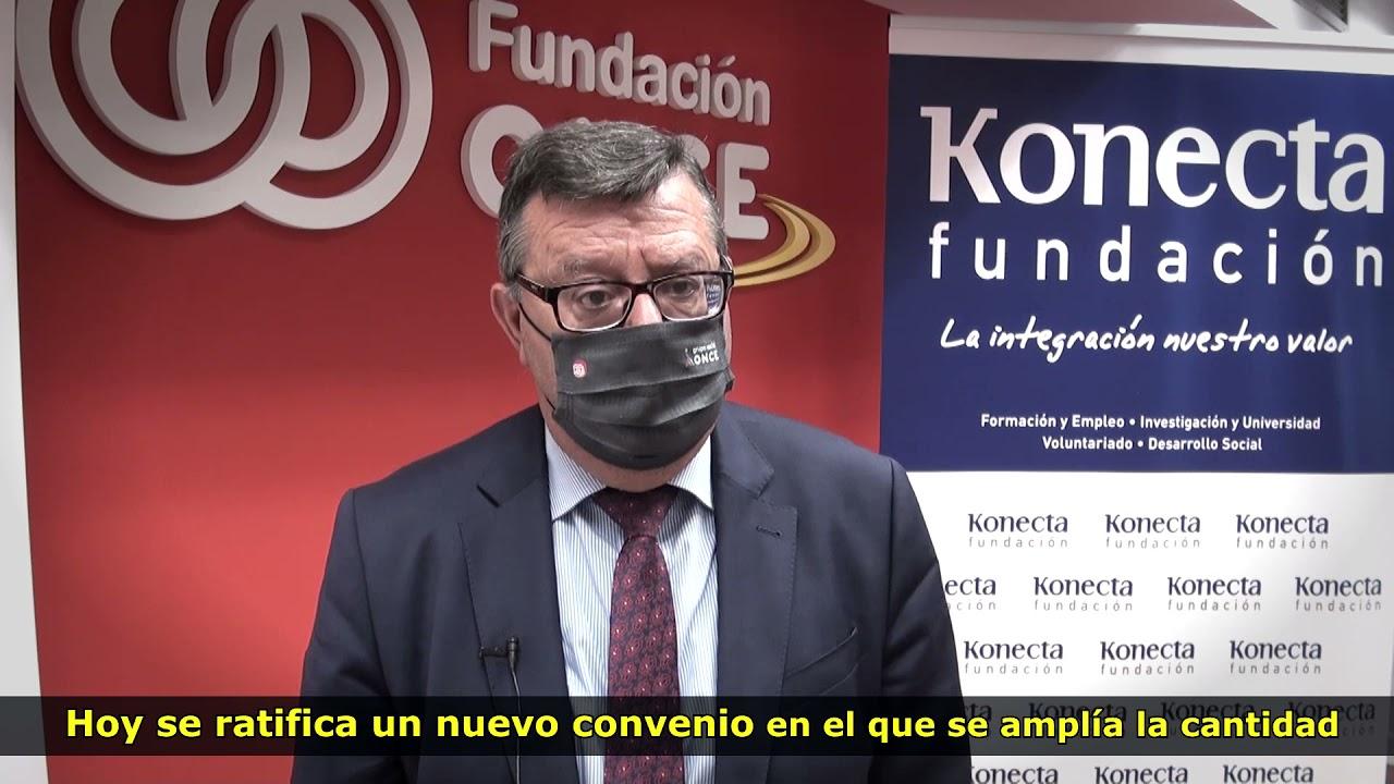 Ver en Youtube el vídeo Renovación del Convenio Inserta entre Konecta y Fundación ONCE. Abre en nueva ventana