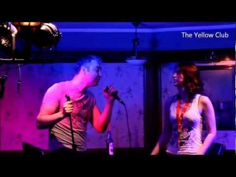 Mr. F-STROM & Ms. Hornet.R at Yellow Club karaoKe nights