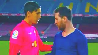 MESSI asked the goalkeeper for his shirt and this is how he reacted! BARCELONA ELCHE