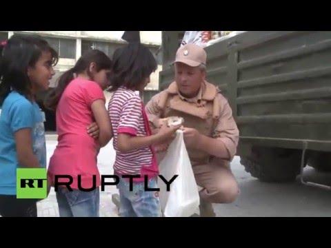 Syria: Russian Army provides humanitarian aid, medical treatment to Latakia refugees