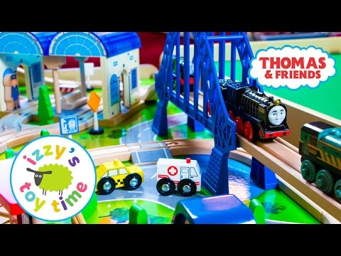 Thomas Train IMAGINARIUM EXPRESS TABLE! Thomas and Friends with Brio | Fun Toy Trains for Kids!