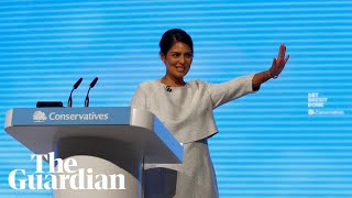 Priti Patel hails Conservatives as 'the party of law and order'