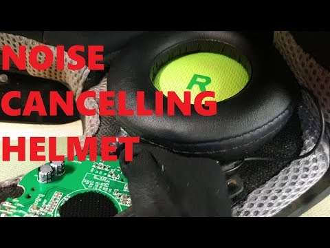 Noise Cancelling Speakers In A Helmet