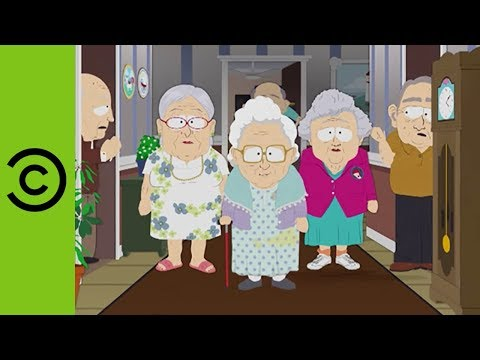 Dt Mess With Top Bitch Of The Retirement Home  South Park