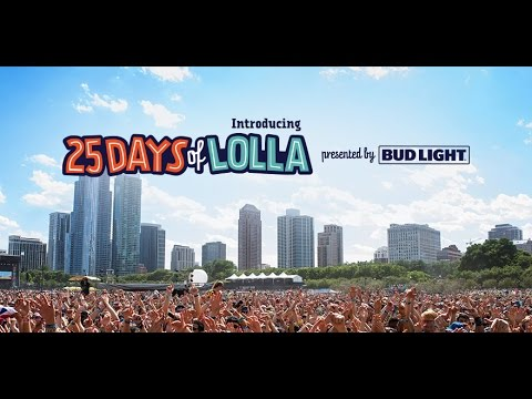 25 Days of Lolla