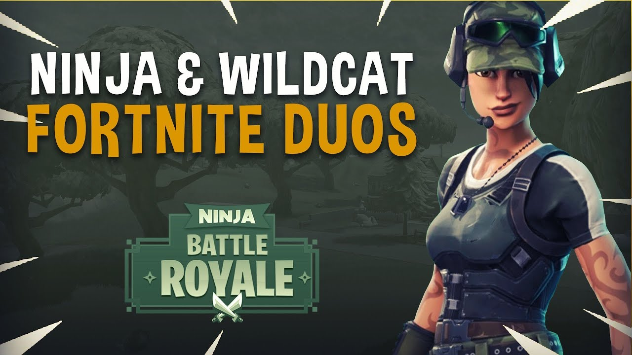 Ninja Wildcat Insane Duos Fortnite Battle Royale Gameplay Youtube