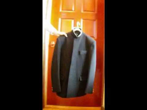 学生服のたたみ方(その1)