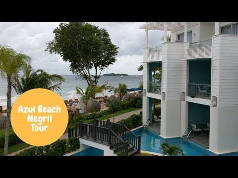 Azul Beach Resort  Negril Jamaica All Inclusive Resort Tour