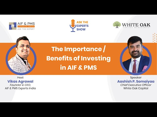 Interaction with Aashish P Somaiyaa | CEO-White Oak on Ask the Expert Show