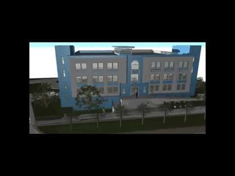 "BUILDING IGPNH ""Inspection Generale de la Police Nationale d'Haiti"" / DESIGN-1 HAITI"