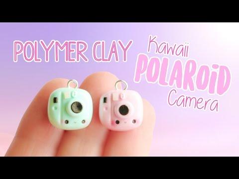 Kawaii Polaroid Camera│Polymer Clay Tutorial