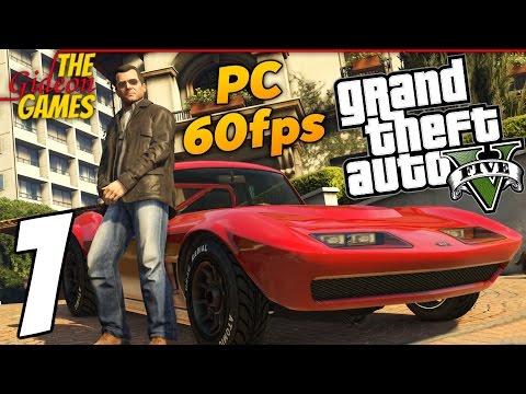 Прохождение GTA 5 с Русской озвучкой (Grand Theft Auto V)[PС 60fps] - Часть 1 (Сбылась мечта идиота)