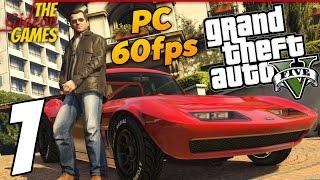 прохождение GTA 5 с Русской озвучкой (Grand Theft Auto V)PС60fps - Часть 1 (Сбылась мечта идиота)