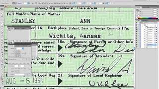 Obama Birth Certificate Faked - check this out  - Official Proof (PDF left in Layers).mp4