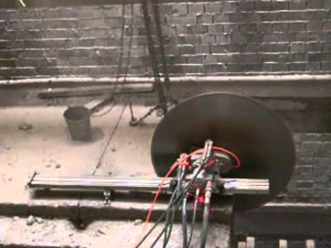 Professional Hydraulic Concrete Wall Saw Machine Bs 600tm