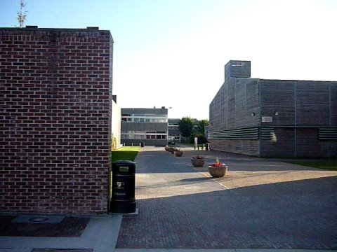 Courtyard of the CIT (Cork Institute of Technology), Cork, Ireland