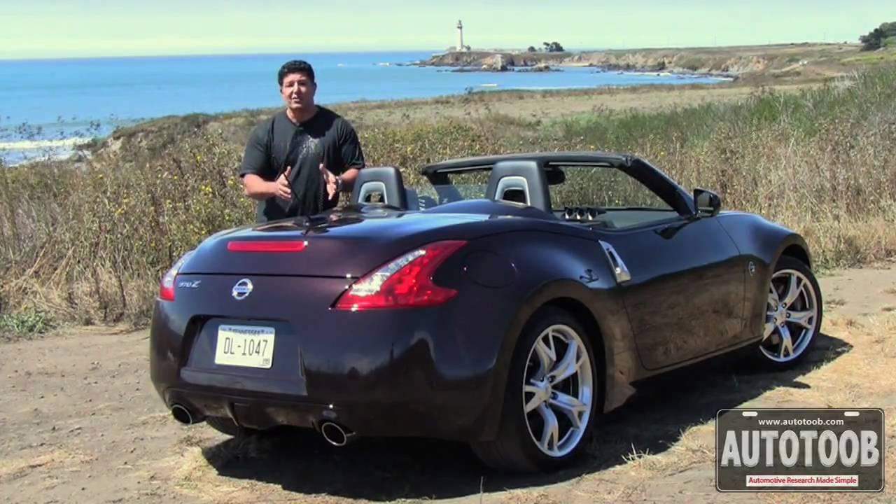 2010 Nissan 370z Roadster Youtube