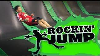ครั้งแรกกับการกระโดดแทรมโพลีนที่ RockinJump Bangkok