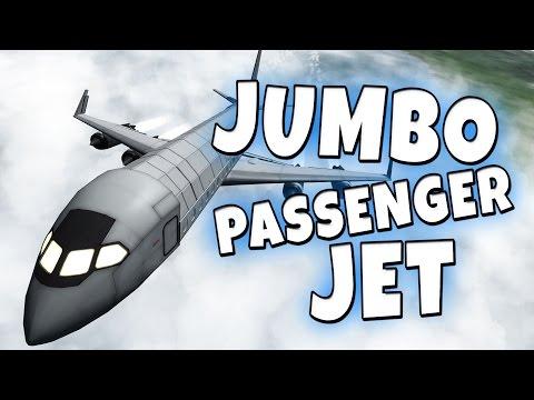 KSP - Jumbo Passenger Jet