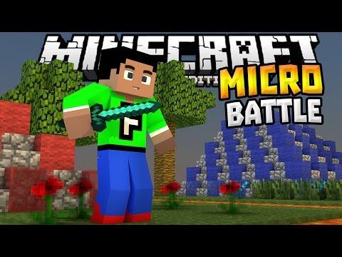 MICRO BATTLES MINIGAME 0.14.0!!! - MCPE Fun Minigame - Minecraft PE (Pocket Edition)