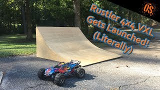 Rustler 4x4 VXL Launch Video With Insane Jumps
