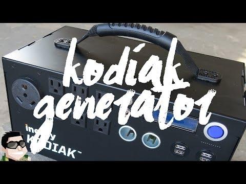 Inergy Solar Generator Portable Off Grid Power!!