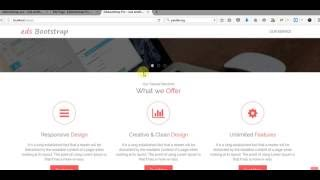 How To Setup Parallax background Block on Homepage