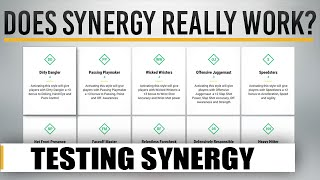 NHL 17 HUT | Does Synergy REALLY WORK? Testing Synergy Effectiveness