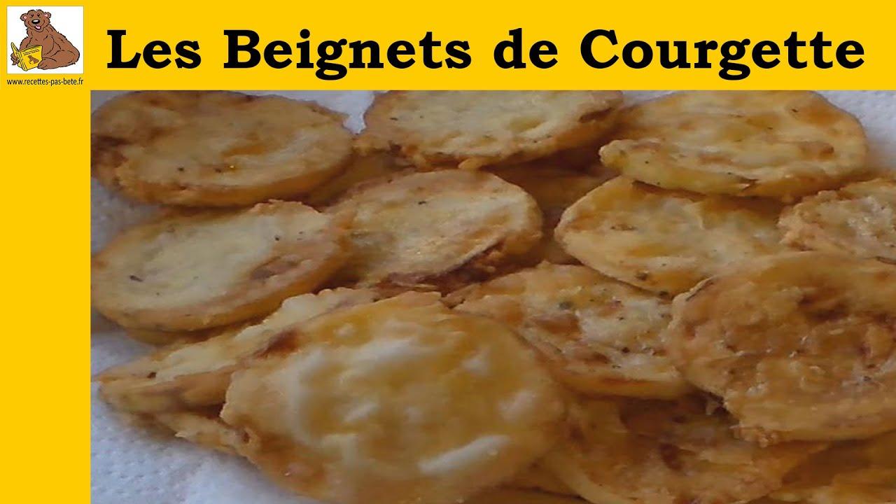 Gut bekannt Les beignets de courgette (recette rapide et facile) - YouTube XK51