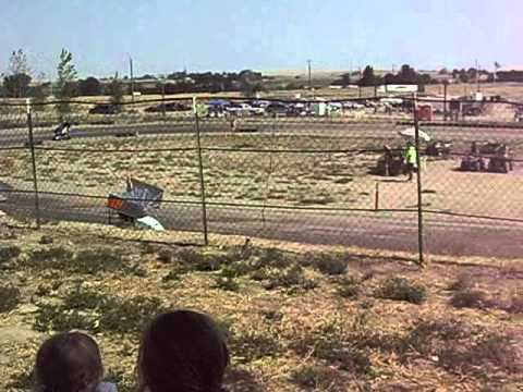 Outlaw Karts, Sandhollow Raceway Park, ID