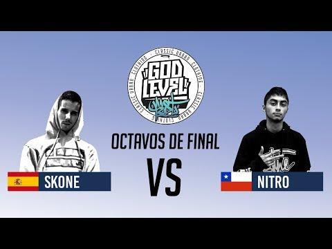 SKONE VS NITRO / OCTAVOS  / GOD LEVEL ARGENTINA