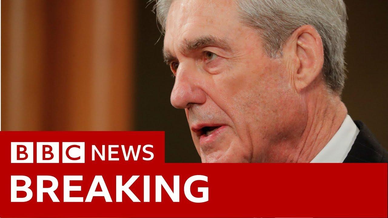 Robert Mueller: Charging Trump was not option - BBC News