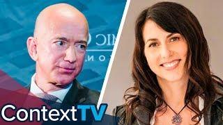 Why Did MacKenzie Bezos give 75% of Amazon to Jeff Bezos