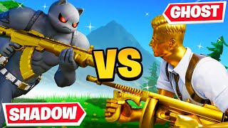 GHOST Vs. SHADOW Challenge in Fortnite!