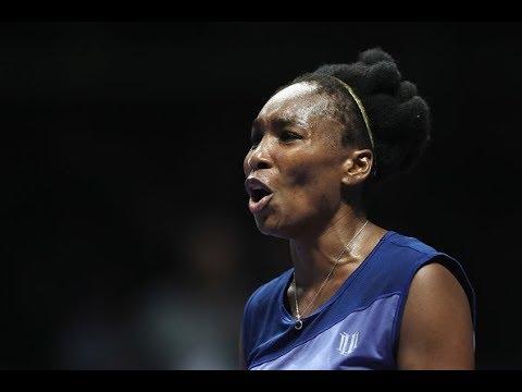 2017 WTA Finals Round Robin | Venus Williams vs Jelena Ostapenko | WTA Highlights