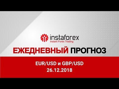 EUR/USD и GBP/USD: прогноз на 26.12.2018 от Максима Магдалинина