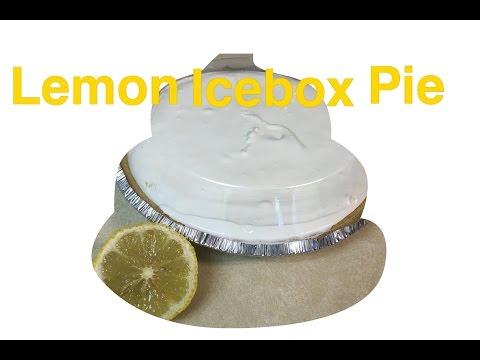 Recipe:  No Bake Lemon Icebox Pie    Just 3 Three Ingredients! Easy